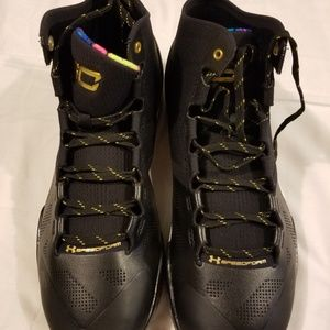 Steph curry under armour all star game black gold